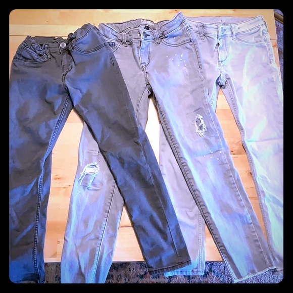 Lot of 3 skinny jeans 7/8
